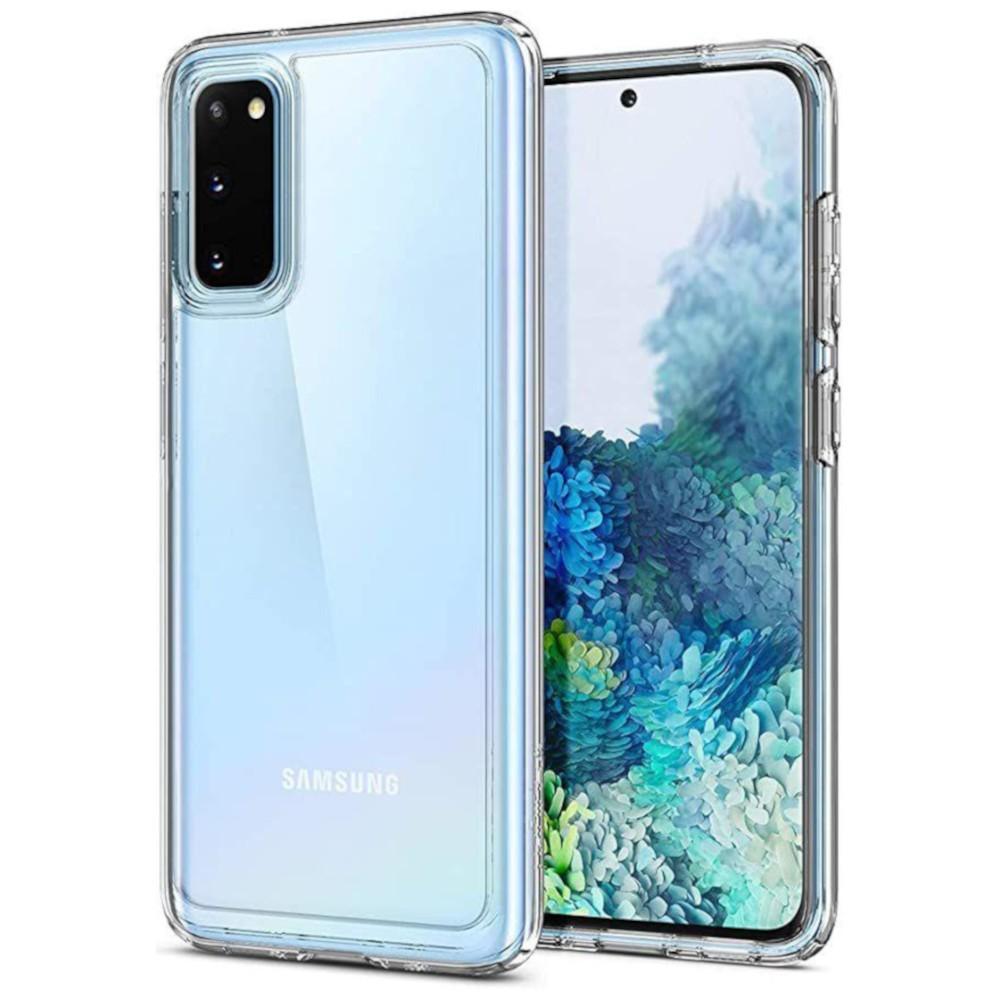 Capa Anti-Impacto Ikase Krystal Samsung Galaxy S20 - TRANSP