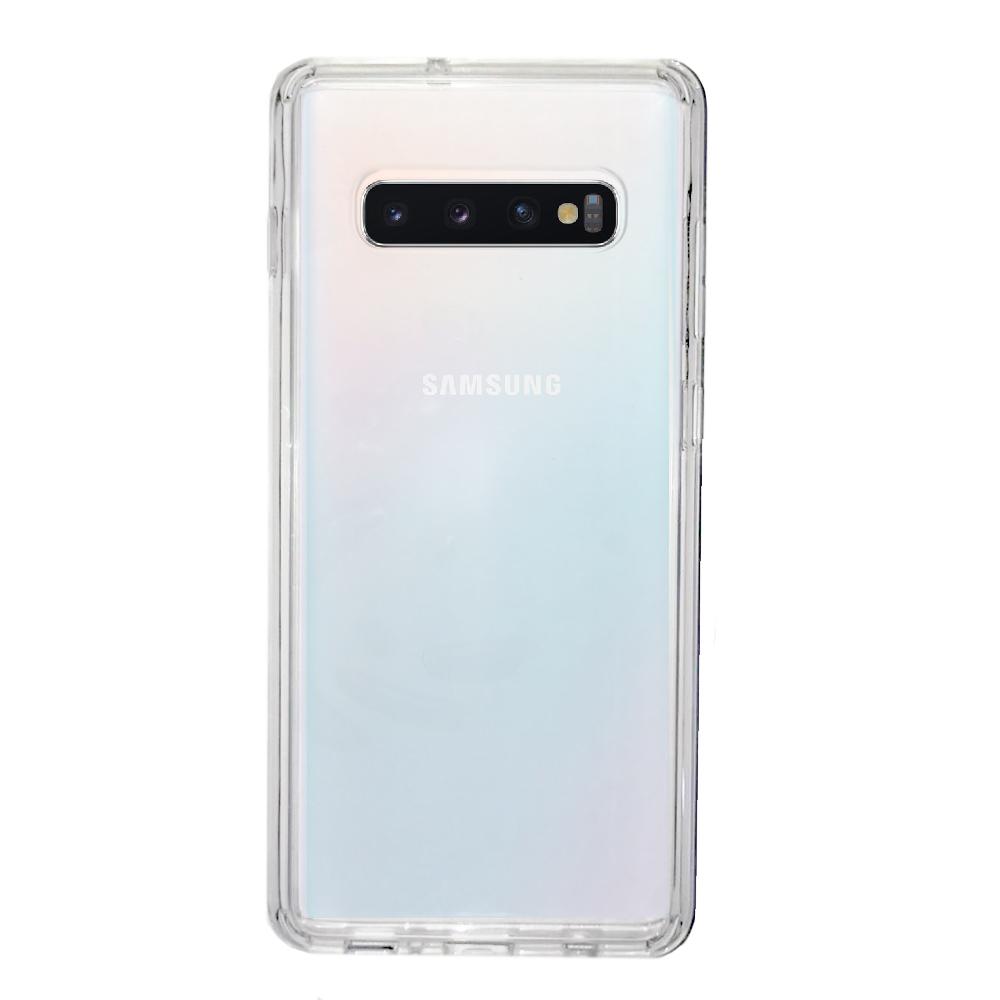 Capa Anti-Impacto Ikase Krystal Samsung S10 Plus - TRANSP