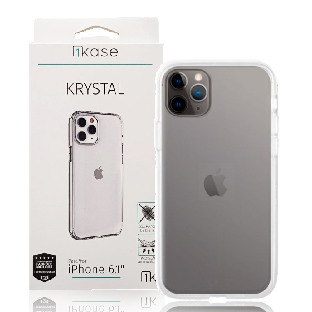 Capa Anti-Impacto Iph11 Pro Max Ikase Krystal - TRANSP