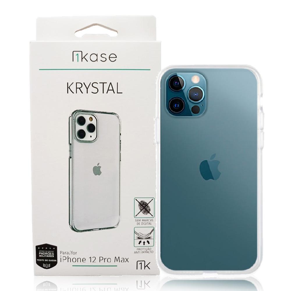 Capa Anti-Impacto Iph12 Pro Max Ikase Krystal - TRANSP
