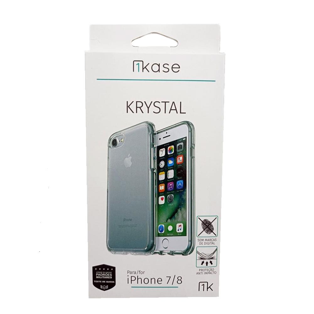 Capa Anti Impacto Iph8 Ikase Krystal - TRANSP