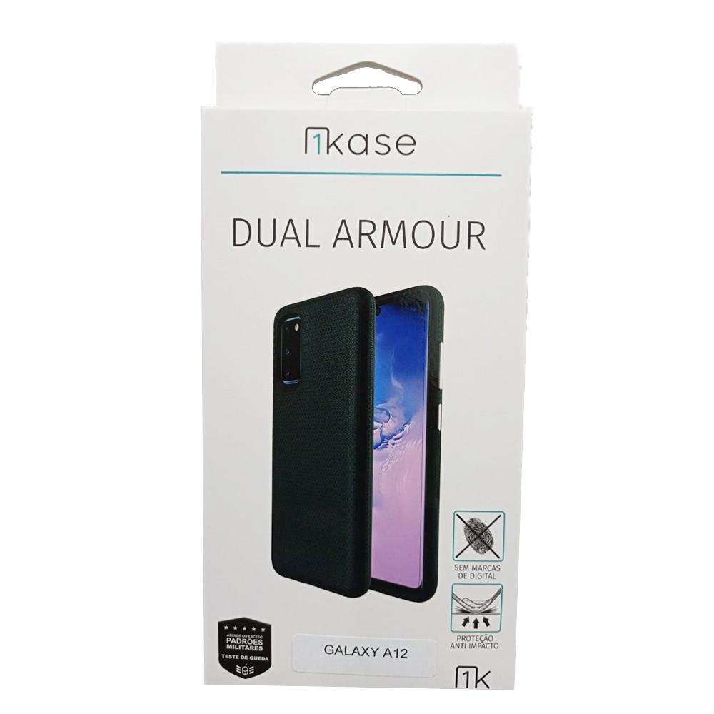 Capa Anti Impacto Samsung A12 - Ikase Dual Armour