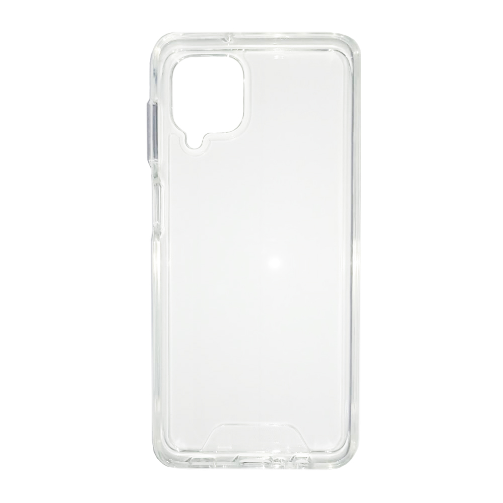 Capa Anti Impacto Samsung A12 - Ikase Krystal - TRANSP