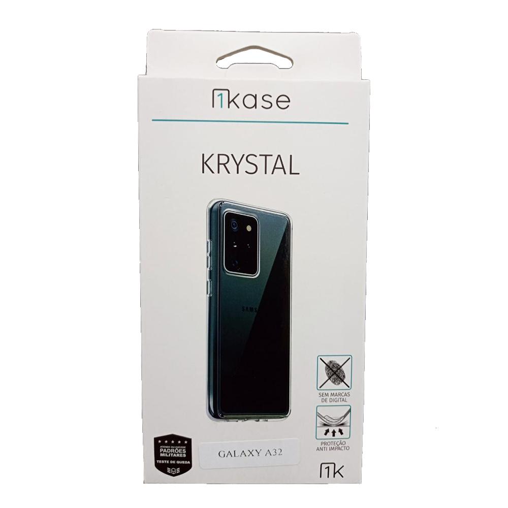 Capa Anti Impacto Samsung A32 5G - Ikase Krystal - TRANSP