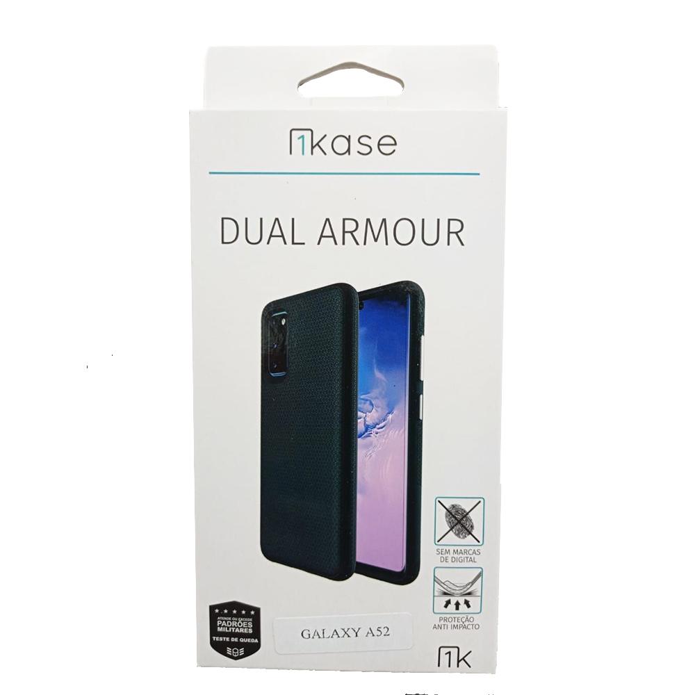 Capa Anti Impacto Samsung A52 - Ikase Dual Armour