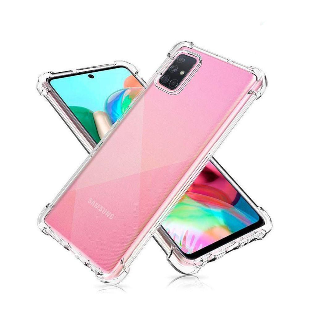 Capa Anti Impacto Samsung Galaxy A71 - TRANSP