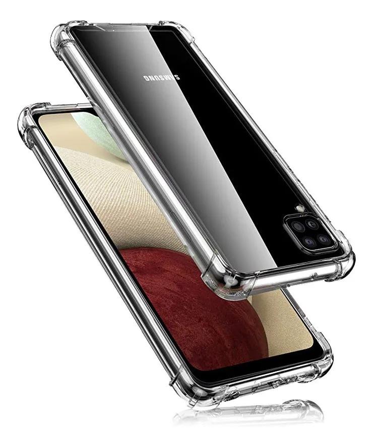 Capa Anti Shock Samsung Galaxy A12 - TRANSP