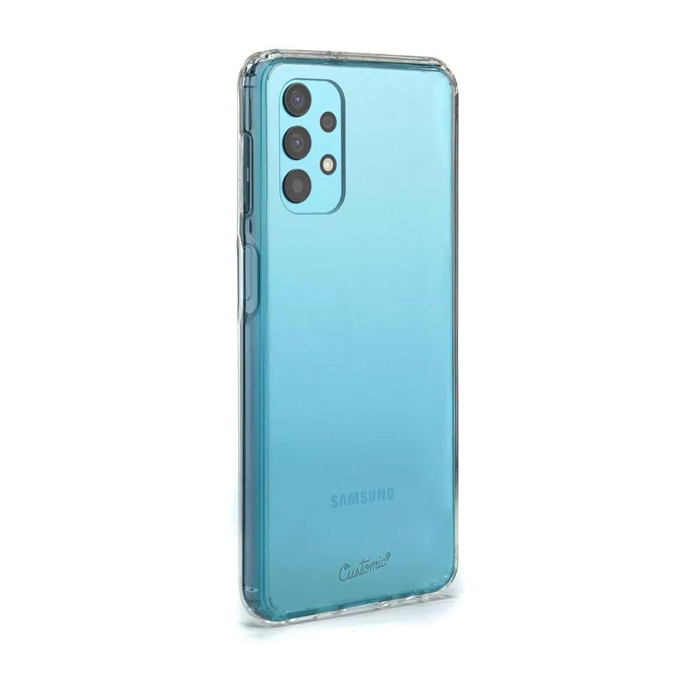 Capa Customic Impactor Clear + Película Nano Zeus Supreme - Samsung A32 4G