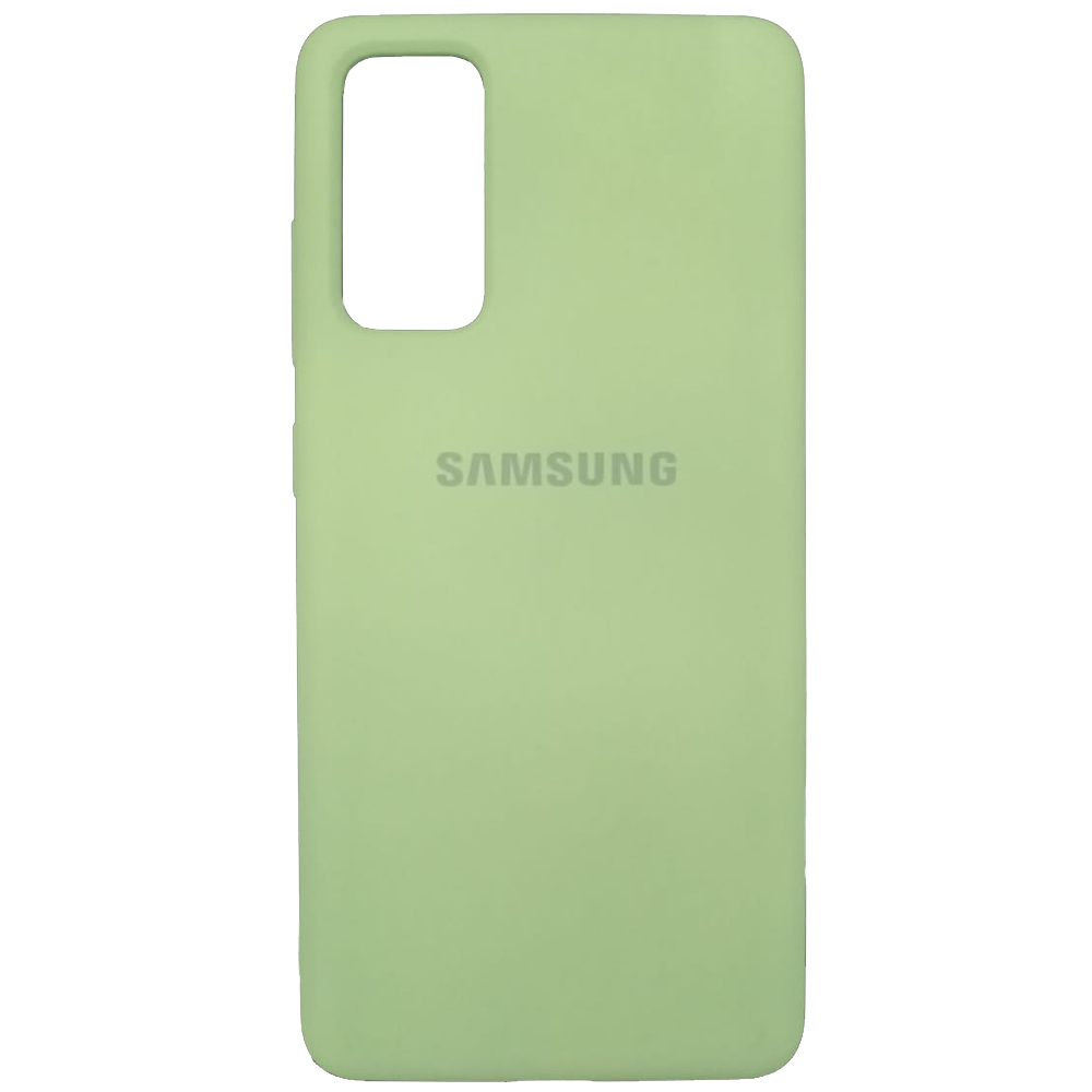 Capa de Silicone com Logo Samsung S20 Fe