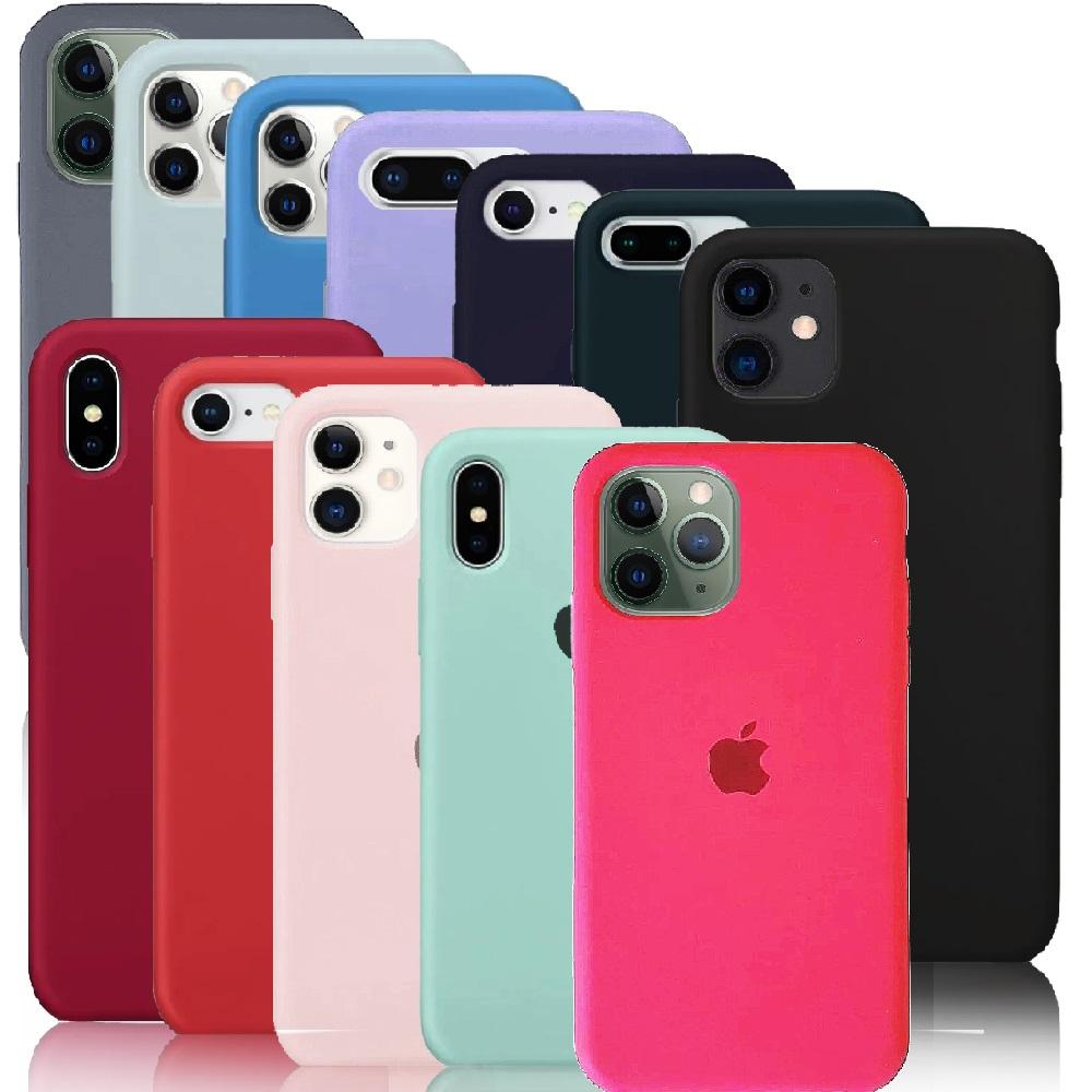 Capa de Silicone Iphone