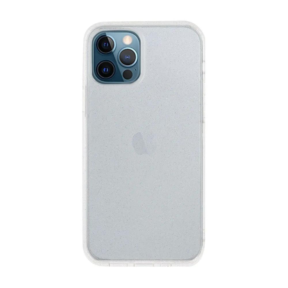 Capa Ikase Gliter Transparente + Película Nano Zeus Supreme - Iphone 12 Pro Max
