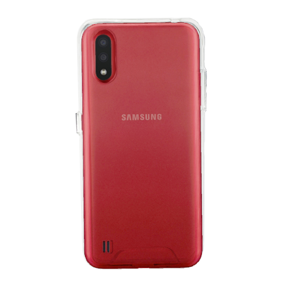 Capa Ikase Krystal + Película Nano Premium - Samsung Galaxy A01