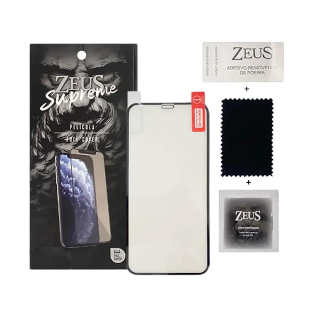 Capa Ikase Pro Elite Preto + Película Nano Zeus Supreme - Iphone XR