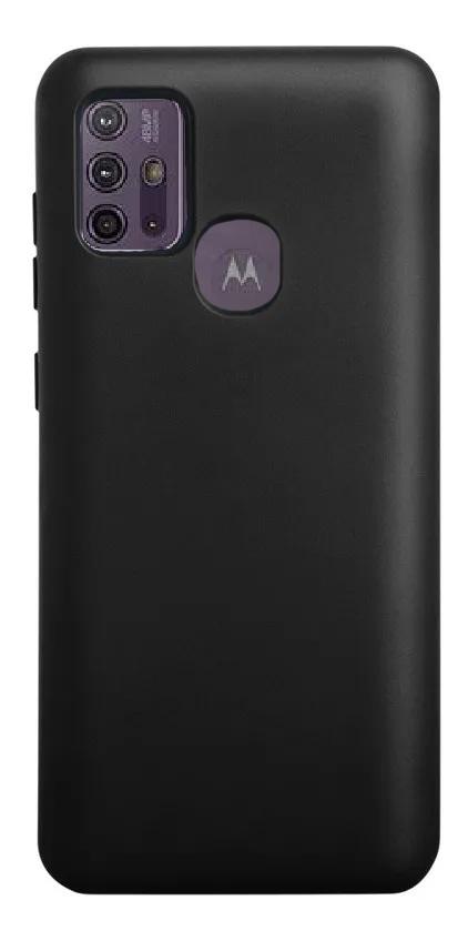 Capa Soft Touch Motorola G10/G30 - Customic - PRETO