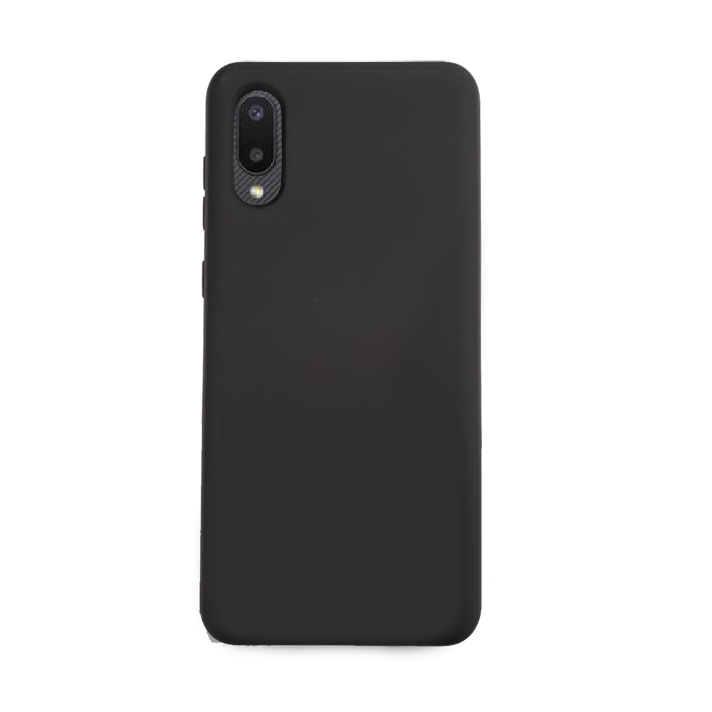 Capa Soft Touch Samsung A02 - Customic - PRETO