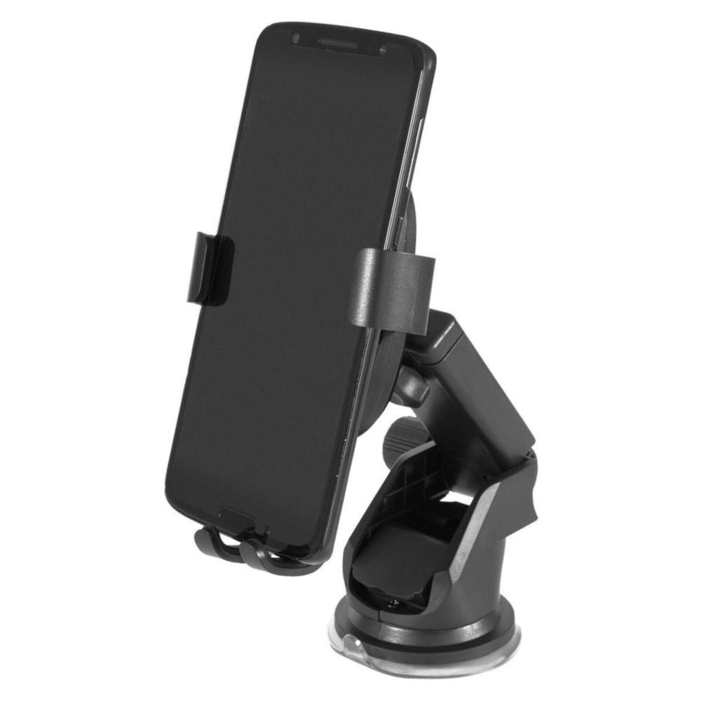 Carregador Veicular Indução Easy Mobile - CARMATK10PT - Preto