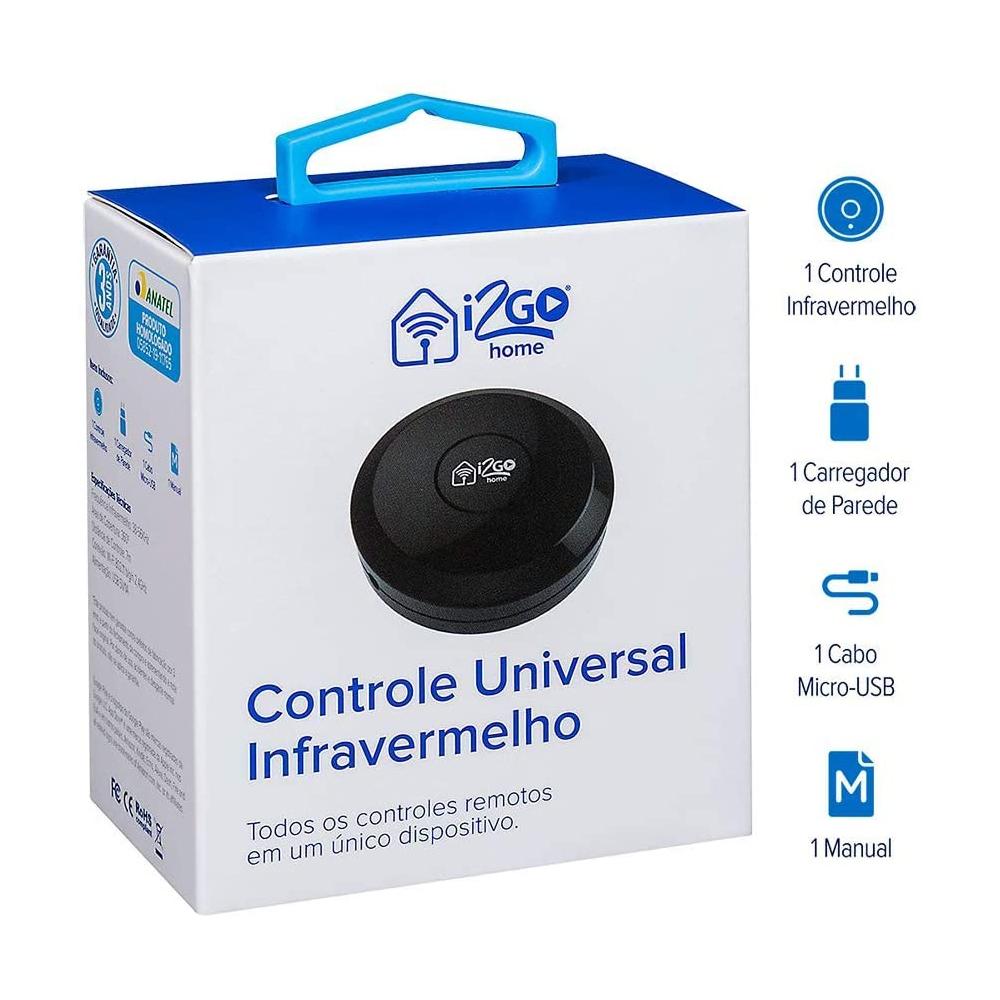 Controle Universal Inteligente Infravermelho - I2GO Home