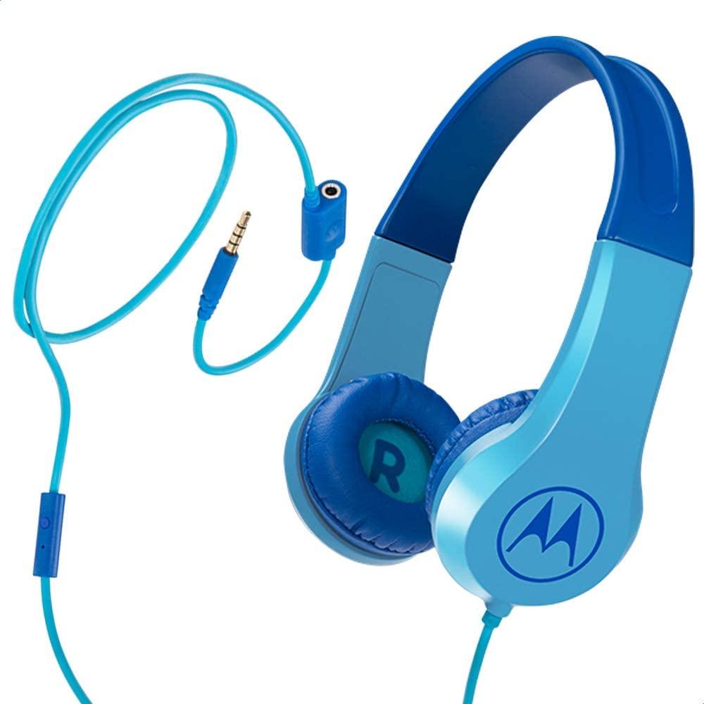 Fone de Ouvido Motorola Squads 200 Kids com fio