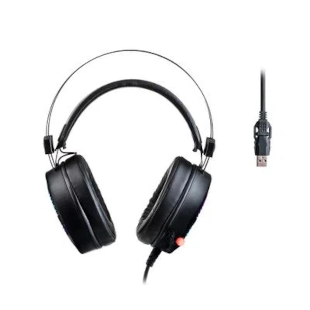 Headset Gamer Warrior Flamma USB 2.0 Stereo RGB - PH306