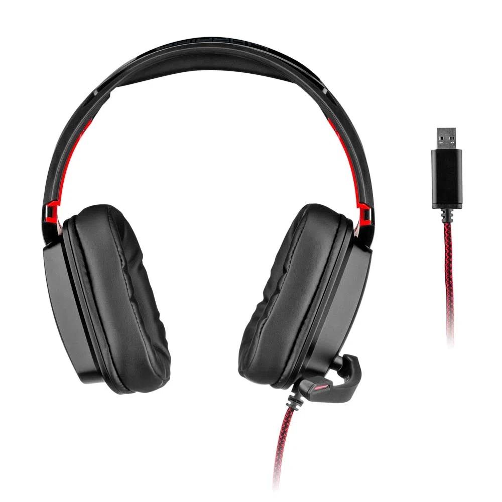 Headset Gamer Warrior Kaden PH301 Multilaser - PRETO