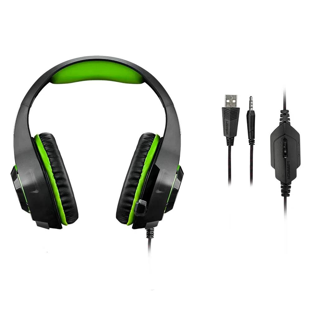 Headset Gamer Warrior Rama PH299 Multilaser - PRETO