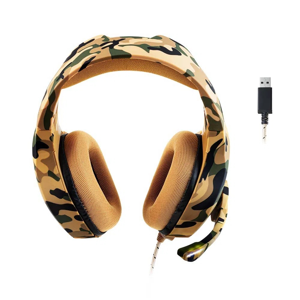 Headset Gamer Warrior Straton PH305 Multilaser - CAMUFLADO