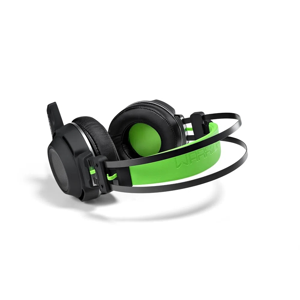Headset Gamer Warrior Swan PH225 Multilaser - VERDE