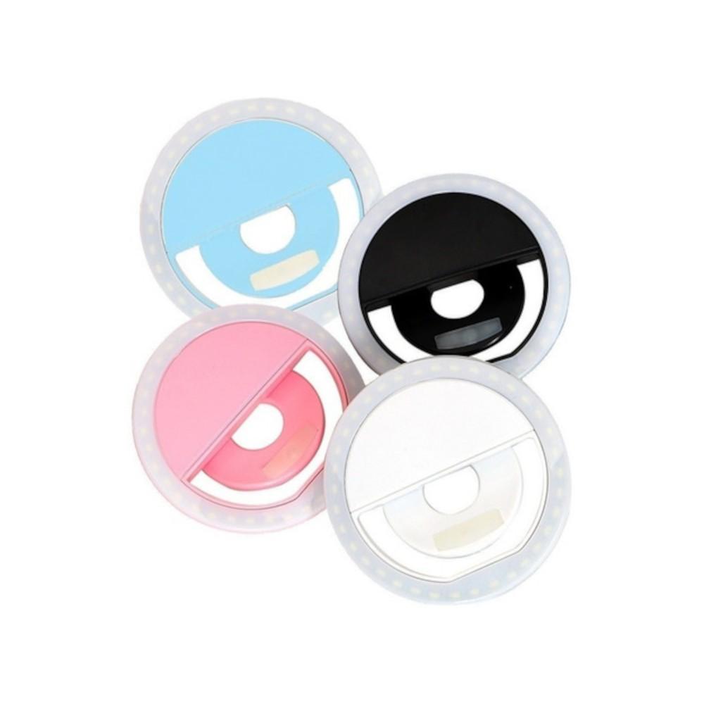Luz Selfie Ring Light Clipe Anel Led Flash Celular Uni Xj-01