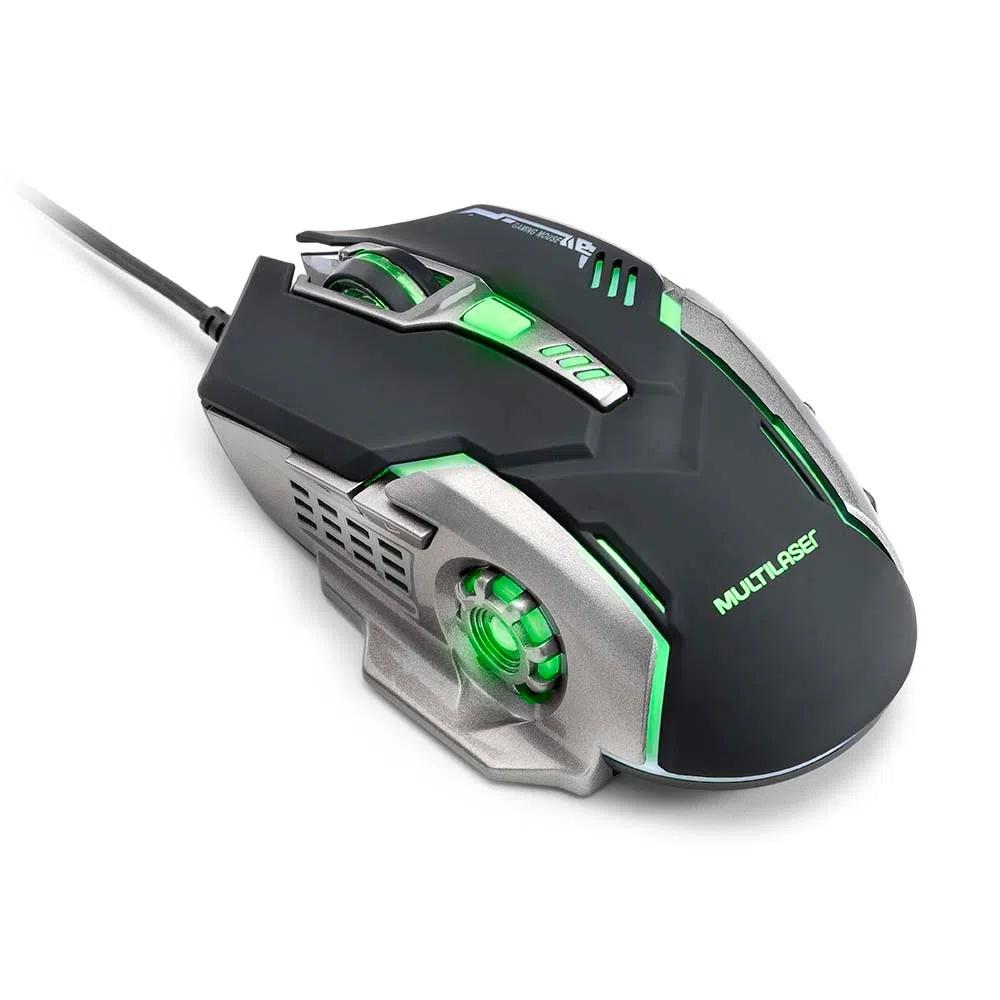 Mouse Gamer MO269 Multilaser - GRAFITE