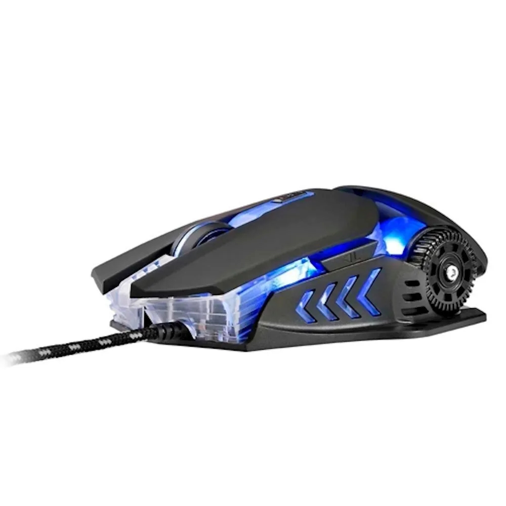 Mouse Gamer Warrior Keon MO267 Multilaser - PRETO