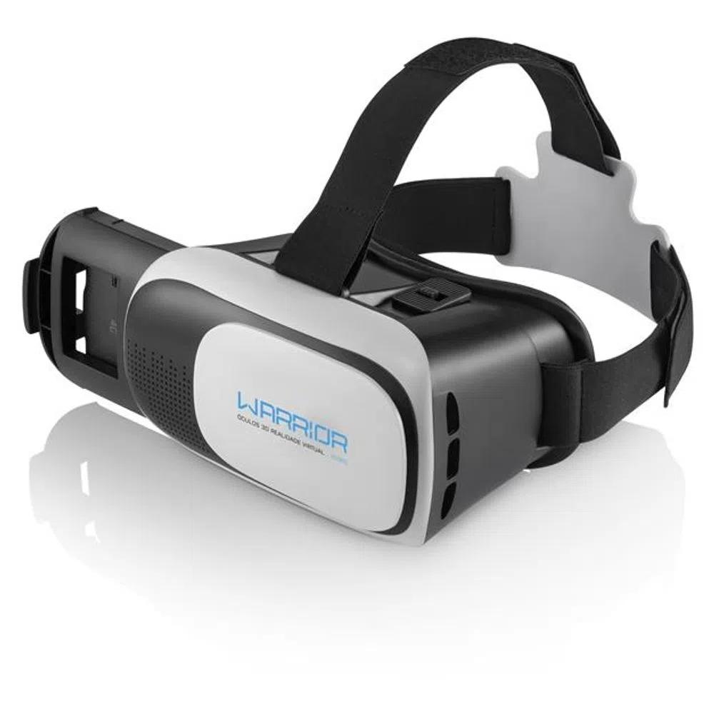 Óculos de Realidade Virtual 3D Gamer Warrior - JS080 Multilaser - 1UNICA