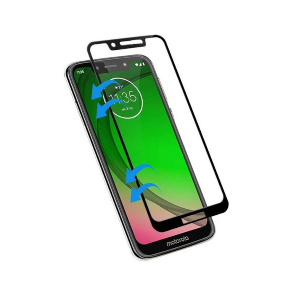 Película 3D Vidro Motorola G7 Play Tela Toda