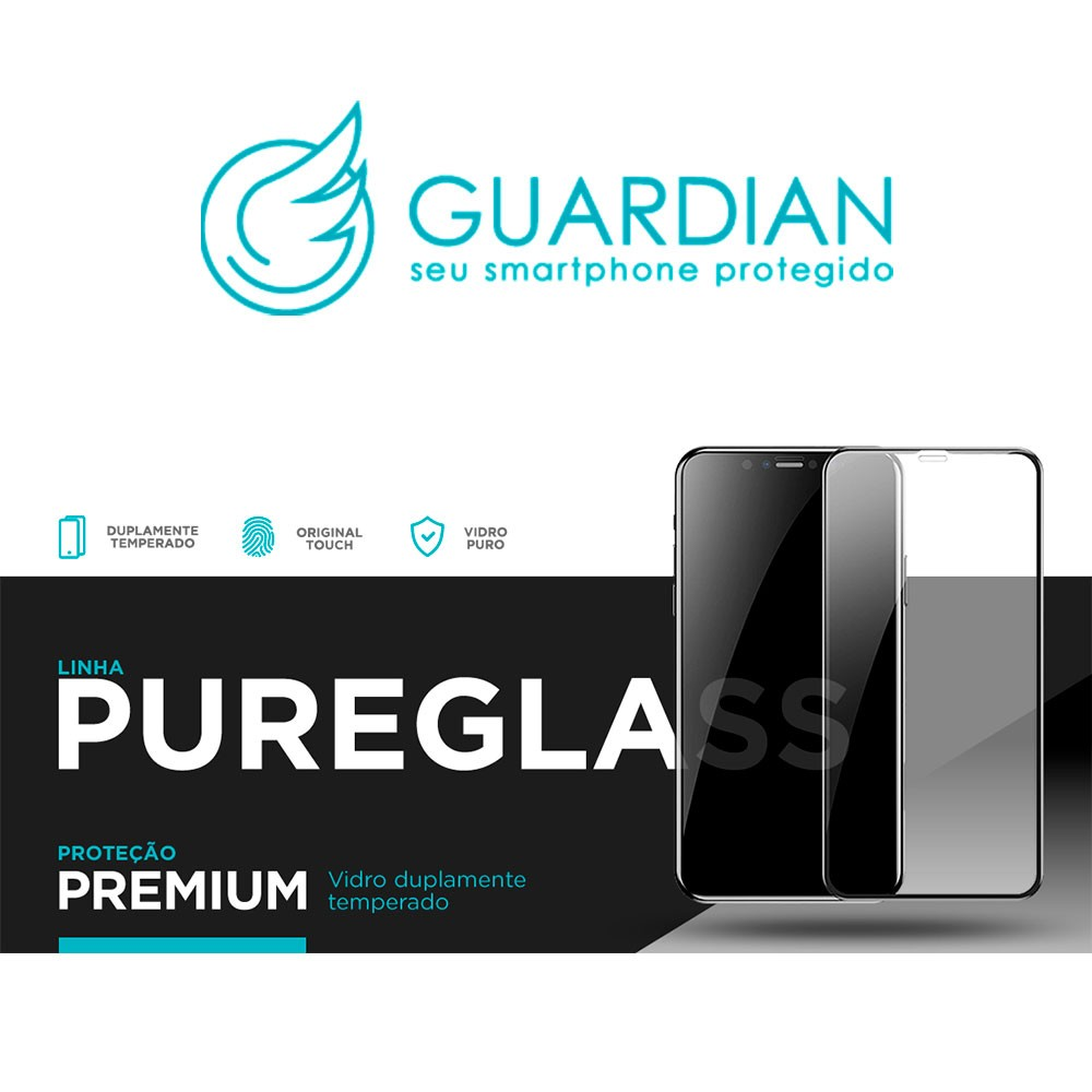 Película Pureglass Guardian 3D S10 Plus Vidro Temperado Tela Toda