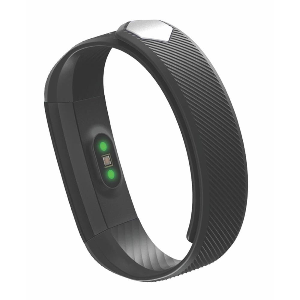 Pulseira Inteligente Easy Mobile Fitness Smart Fit HR 2 - PRETO