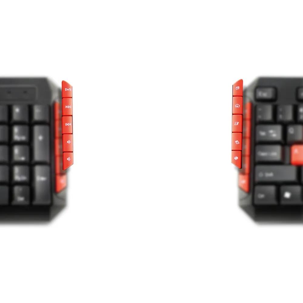 Teclado Gamer Red Keys USB Multimidia TC160 - PRETO