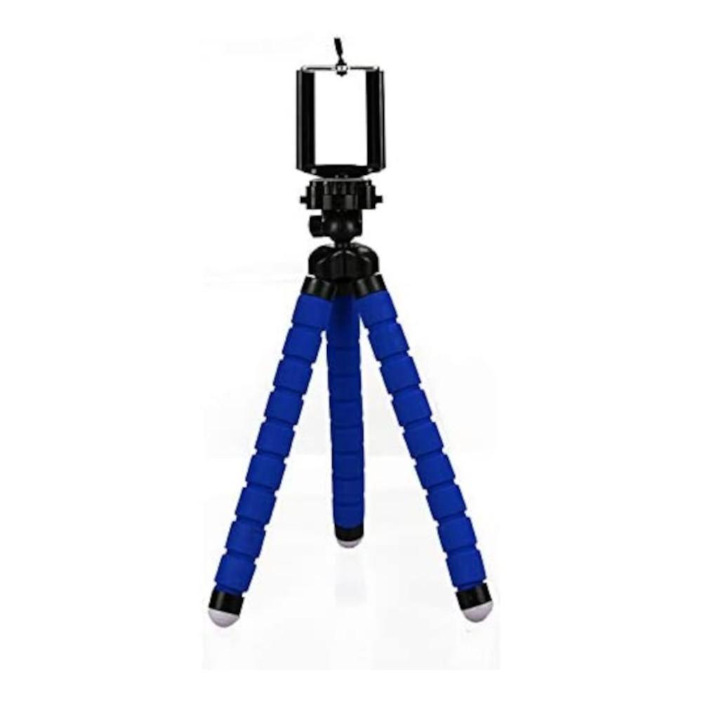 Tripé Flexível com Suporte para Celular Neoprene 21cm
