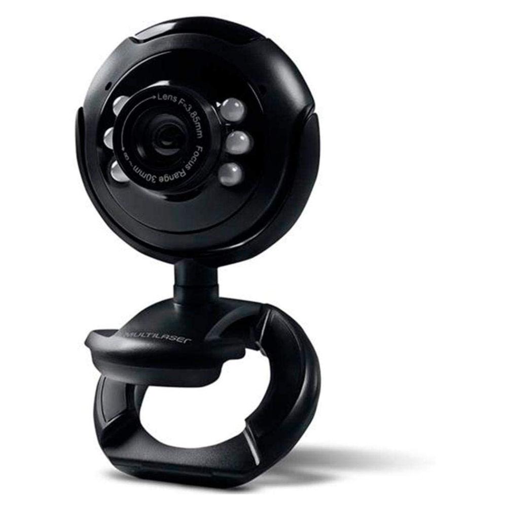 Webcam  Plug e Play WC045 Multilaser