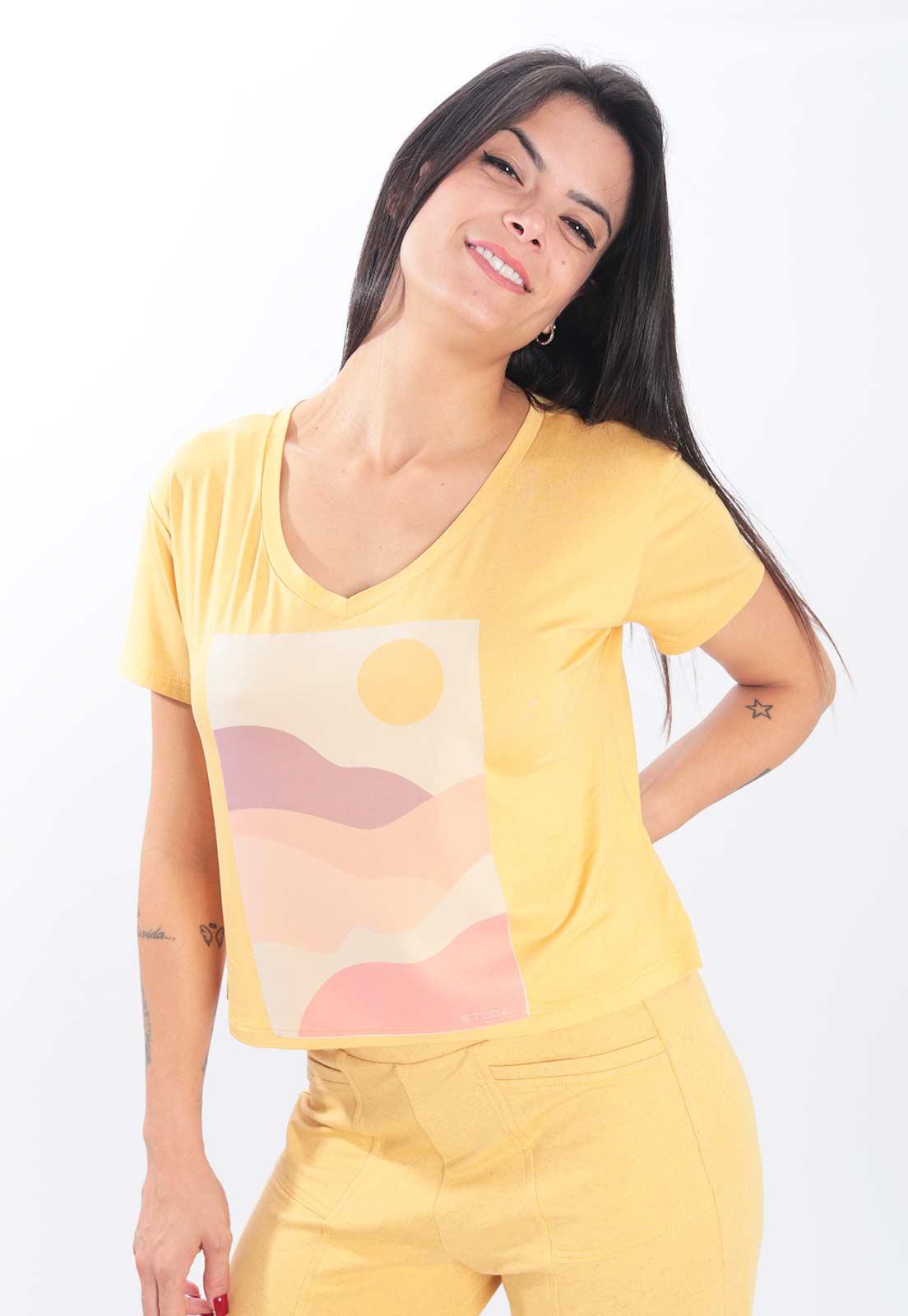 T-shirt Stock Paisagem