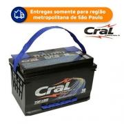 Bateria Automotiva CRAL CL70VD 70Ah 18 meses de garantia