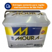 Bateria Automotiva MOURA M48FD 48Ah 18 meses de garantia