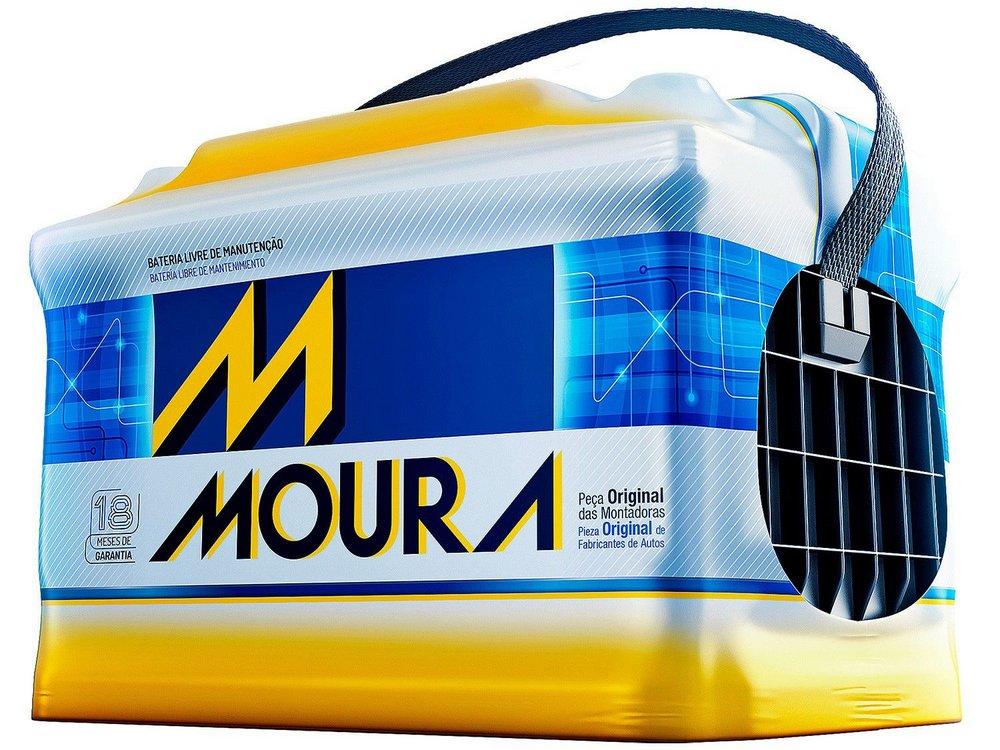 Bateria Automotiva MOURA M60GD 60Ah 18 meses de Garantia