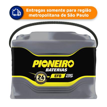 Bateria Automotiva PIONEIRO EFB72D( START/STOP) 72Ah 24 meses de Garantia