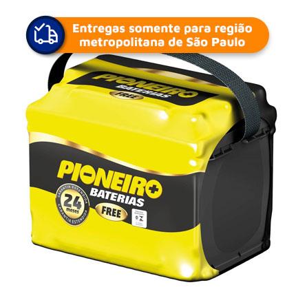 Bateria Automotiva PIONEIRO F60DG 60Ah 24 meses de Garantia