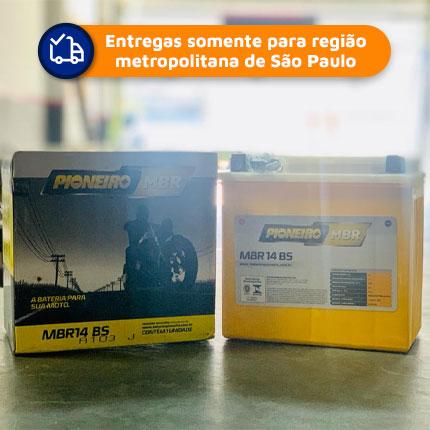 Bateria PIONEIRO MBR14-BS Aux. da Mercedes e BMW  9 meses de garantia