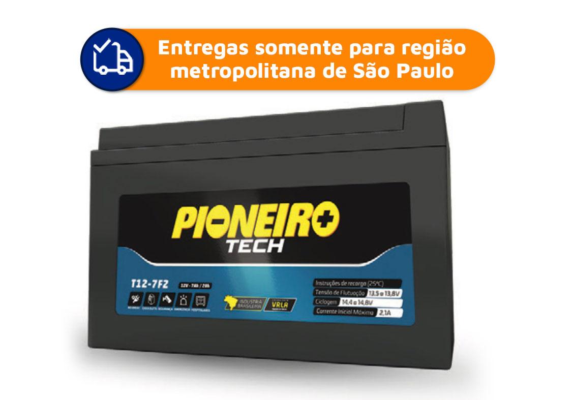 Bateria no-break 12V 7Ah Pioneiro