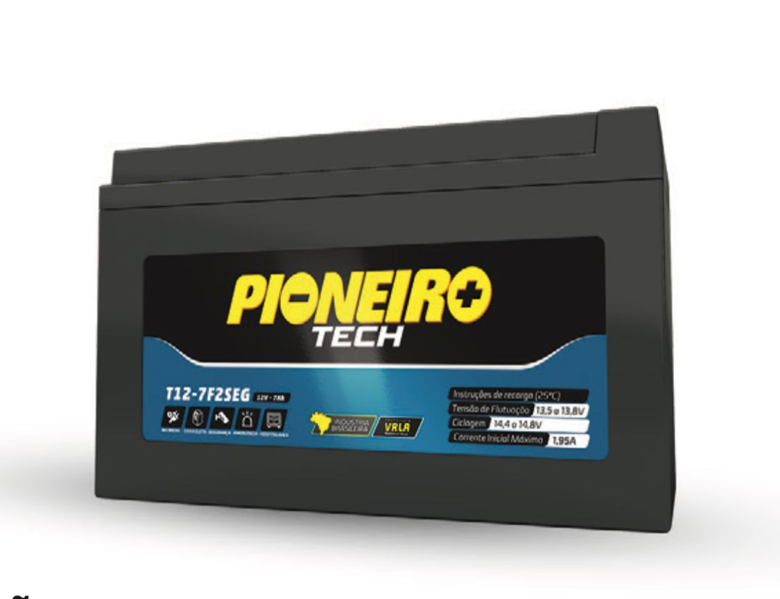 Bateria no-break 12V 7Ah SEG Pioneiro