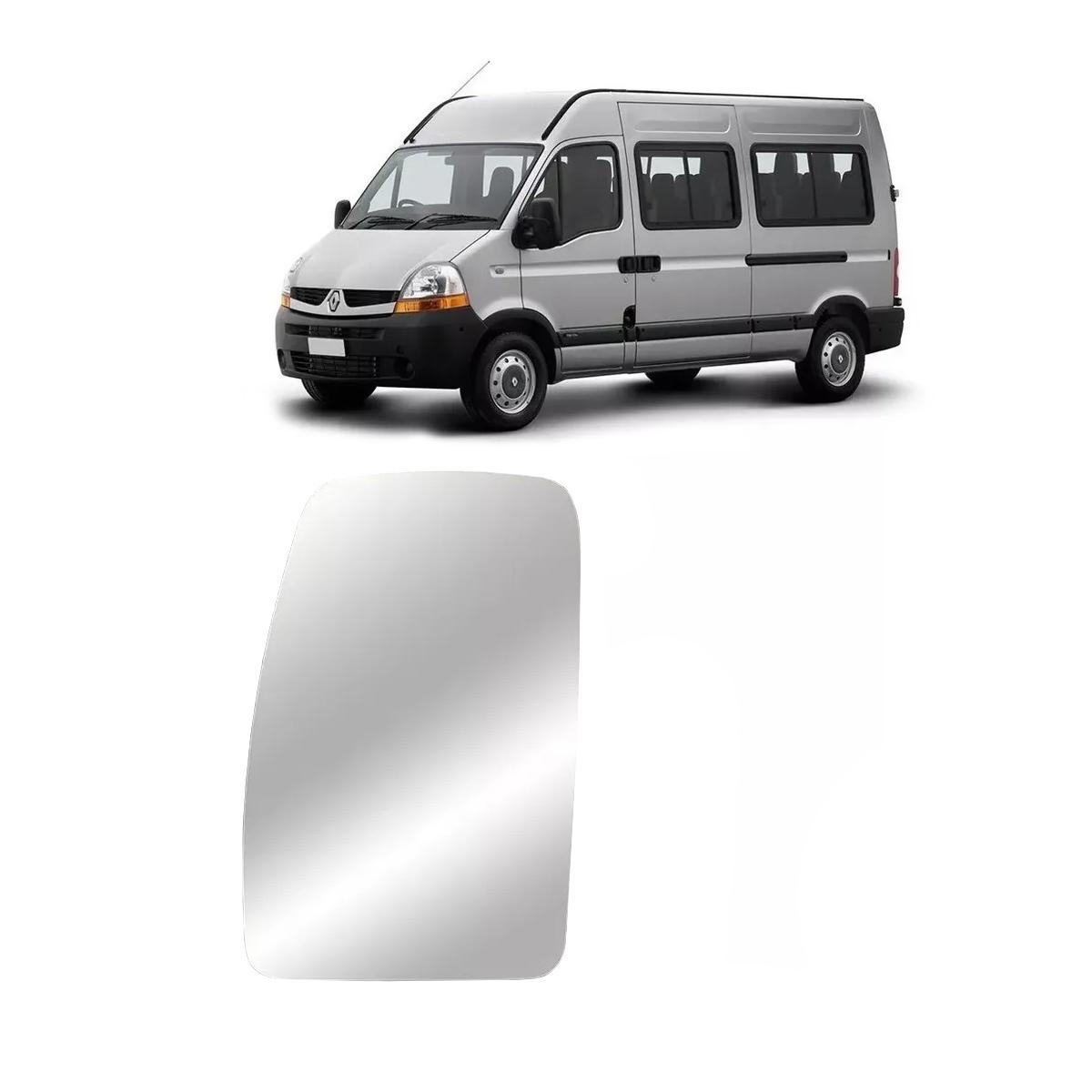 Lente Espelho Retrovisor L/e Renault Master 2002 Até 2020