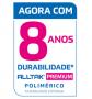 PREMIUM BRANCO FOSCO 0,08X1,22