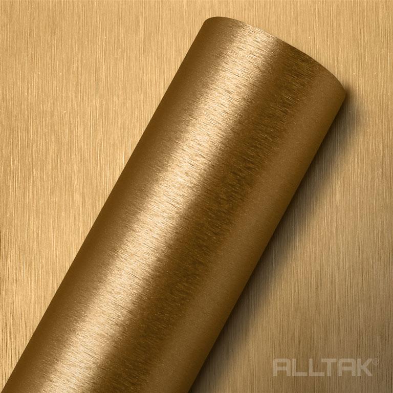 ALLTAK ACO ESCOVADO GOLD  0,16X1,22