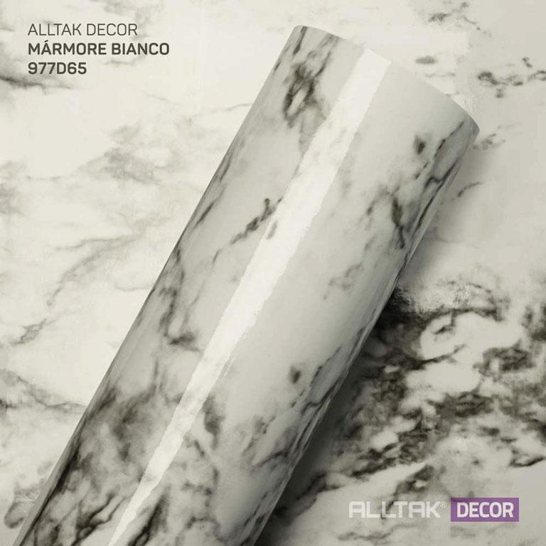 ALLTAK DECORATIVO MARMORE BRANCO  0,16X1,22